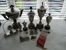 Set of trophies, medals - Motorcycle racing Netherlands 1950s
