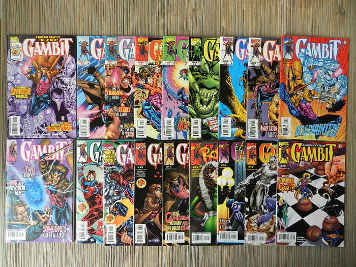 Marvel Comics - Gambit Vol 1 And 3 Complete Sets + Professor Xavier And The X-Men Complete Set + More - 50x SC (1994/2011)