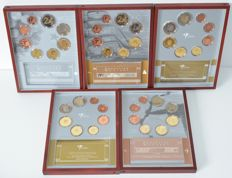 The Netherlands - Year packs 1999/2003 (5 different ones)