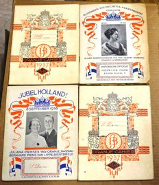 Collection of magazines and booklets about the House of Orange