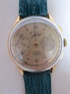 Jolus 17 jewel chronograph - men's - 1950-1959