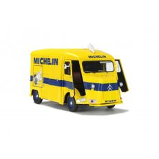 Solido - Scale 1/18 - Citroen HY 1969 Michelin - Colour: Yellow / Blue