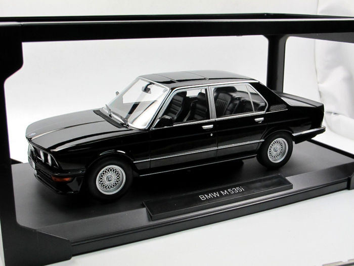 Norev - Scale 1/18 - BMW E12 M535I - Black