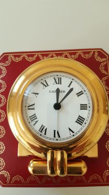 Cartier table clock, early 200s.