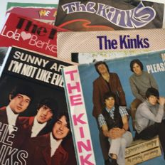 The Kinks, lot of 6 original 7inch picture sleeve singles from Germany