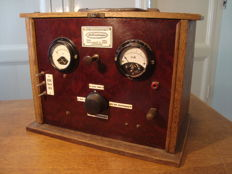 Battery charger - Aetherstroom 's Gravenhage Holland - dated 1937