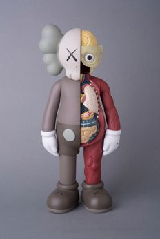 Kaws - Companion Brown Flayed Medicom Toy