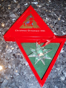 Swarovski - Christmas ornament 1991