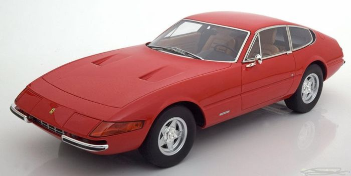 GT Spirit - 1:12 - Ferrari 365GTB/4 Daytona 1972 - Limited 1500 pcs-color red
