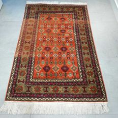 Beautiful Kazakh carpet with special design - 148 x 97 - Special appearance