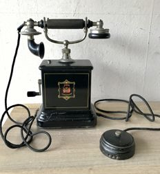 Antique Jydsk telephone, Denmark - circa 1904