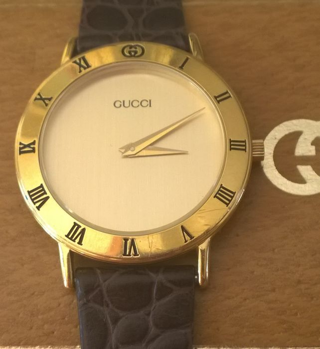 4a909d90a11 Gucci 3000.2.M - Very elegant and rare men s watch