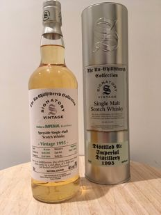 Imperial 1995 - 20 years old - Signatory Vintage - cask no's. 50265+50266