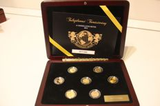 "World - Set of 7 coins 2013 ""The Magnificent Seven"" - 7 x 1/10 oz gold"