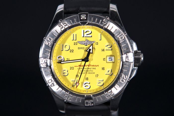 Breitling Superocean Special Edition Yellow – A17360 – Men's wristwatch – 2000-2010