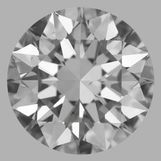 0.50ct  Round Brilliant F VS1  GIA- Low Reserve Price - #WD2145