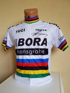 Peter Sagan - Double world champion Formula 1 and five-time winner of the Tour de France green jersey - hand-signed jersey + COA