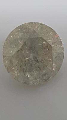 2.29 ct - Round Brilliant - White - G / I2