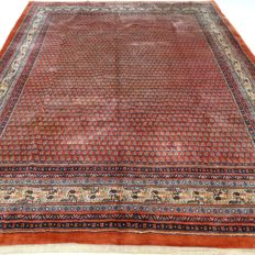 "Sarough-Mir – 273 x 218 cm – ""Persian Mir in brick – In beautiful condition"" – With certificate"