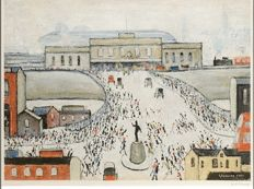 Ls Lowry - Approach to the station