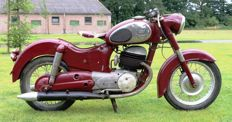 Puch Allstate - SGS 250cc dubbelzuiger - 1955