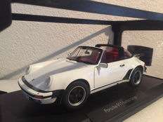 Norev - Scale 1/18 - Porsche 911 Turbo Targa - White