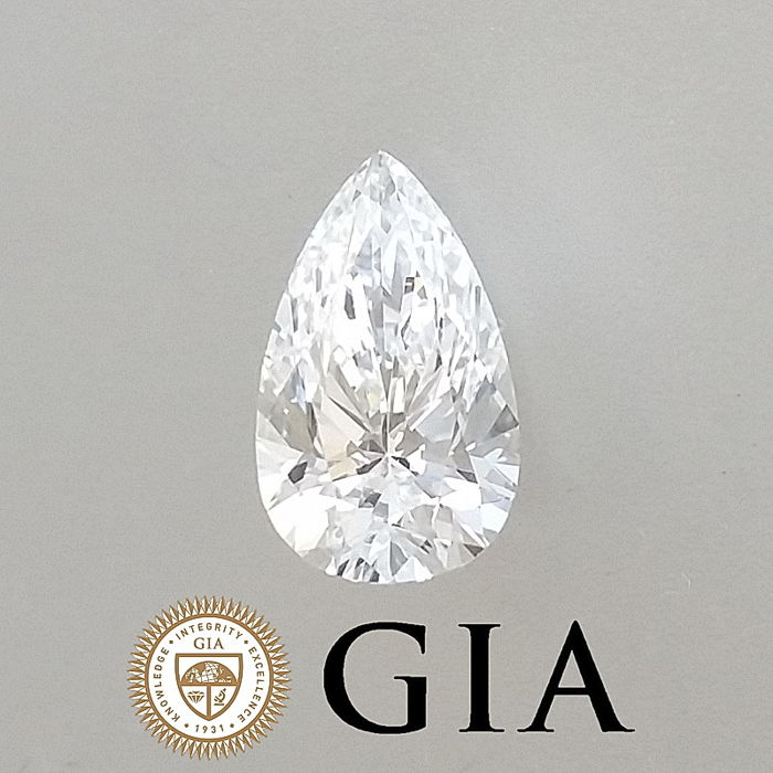 GIA 0.70 ct F/VS1 Pear Brilliant Diamond ***Original Image***