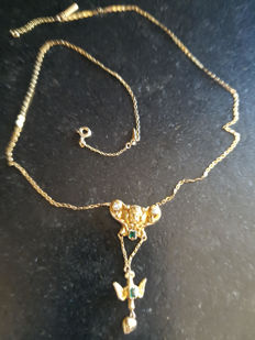 Chain with the Holy Spirit Cross