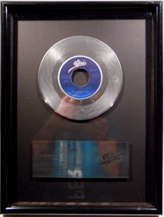 "Michael Jackson - Don't stop 'til you get enough - original US Epic Sales Music Record Award platinum 7"" single record"