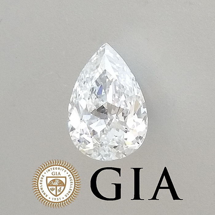 GIA 0.78 ct F/SI1 Pear Brilliant Diamond ***Original Image***