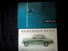 2 Mercedes Benz brochures