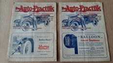De Auto-Practijk - 24 copies - magazines from the period 1924-1925