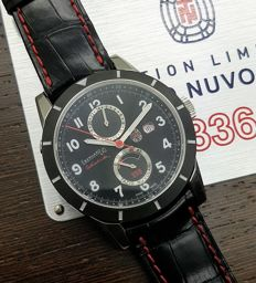 Eberhard & Co. - Tazio Nuvolari Gmt  - Limited Edition N°300\336 - Unisex - 2011-heden