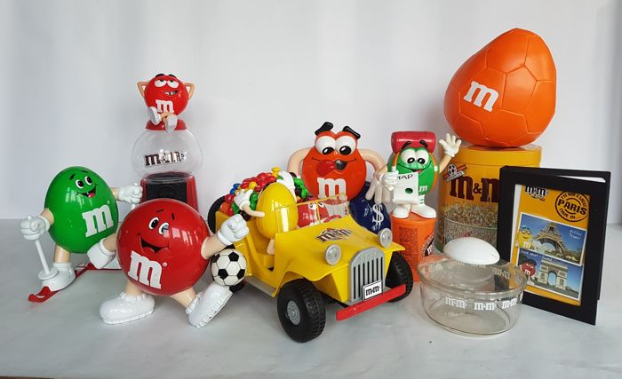 Very comprehensive collection M&M's Collectable Characters - Mars incorporated - M&M for sale