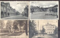 Belgium / Belgique - 111x; old and very old views of villages and cities