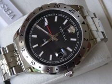 VERSACE Hellenyium GMT Luxury Men Dive watch