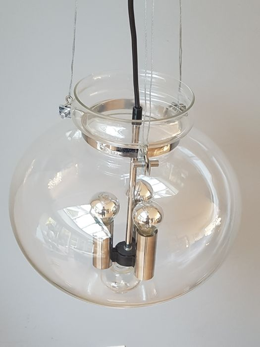 Glashutte Limburg - Glass ceiling light with 3 lamp holders