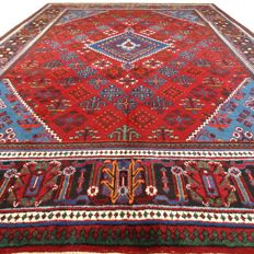MeyMey - 322 x 220 cm - vintage - large, Persian beauty in beautiful condition - with certificate