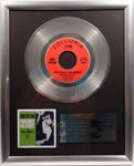 """Check out our Bob Dylan - Positively 4th Street - 7"""" Single Columbia Records platinum plated record by WWA Awards"""