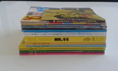 Pornography; Lot with 16 vintage sex magazines - 1970/1990
