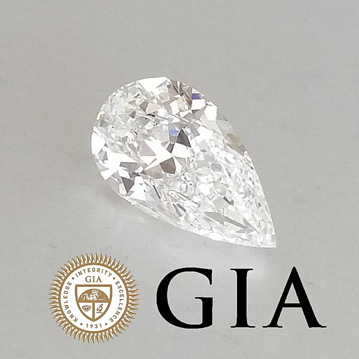 GIA 1.50 ct G/VS1 Pear Brilliant Diamond ***Original Image***