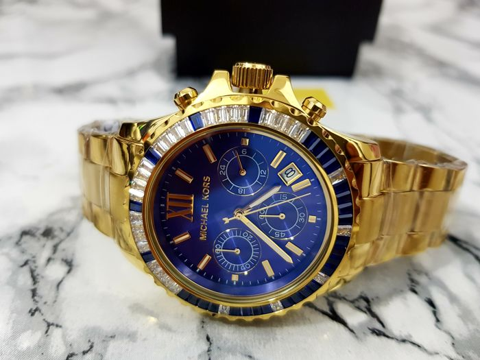 c278fad9fc10 Michael Kors Golden Everest Mens Watch MK5754 - Catawiki