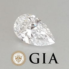 GIA 1.11 ct E/IF Pear Brilliant Diamond ***Original Image***