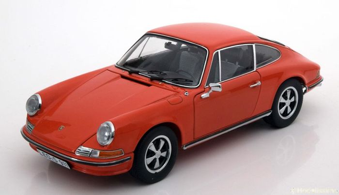 Schuco - 1:18 - Porsche 911S 2.4 Coupe 1973 - Farbe Orange