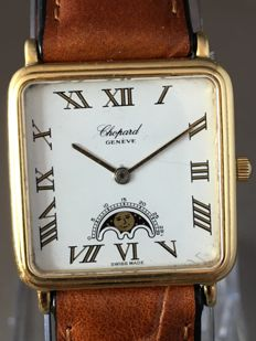 Chopard Genève Moonphase – 18 kt yellow gold watch – circa 1980s