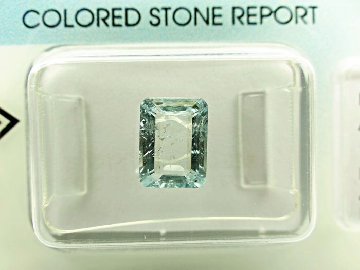 Aquamarine - 1,36 ct
