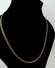 Necklace in 18 kt gold – 63 cm