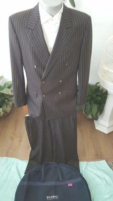 Scabal double-breasted - men's suit