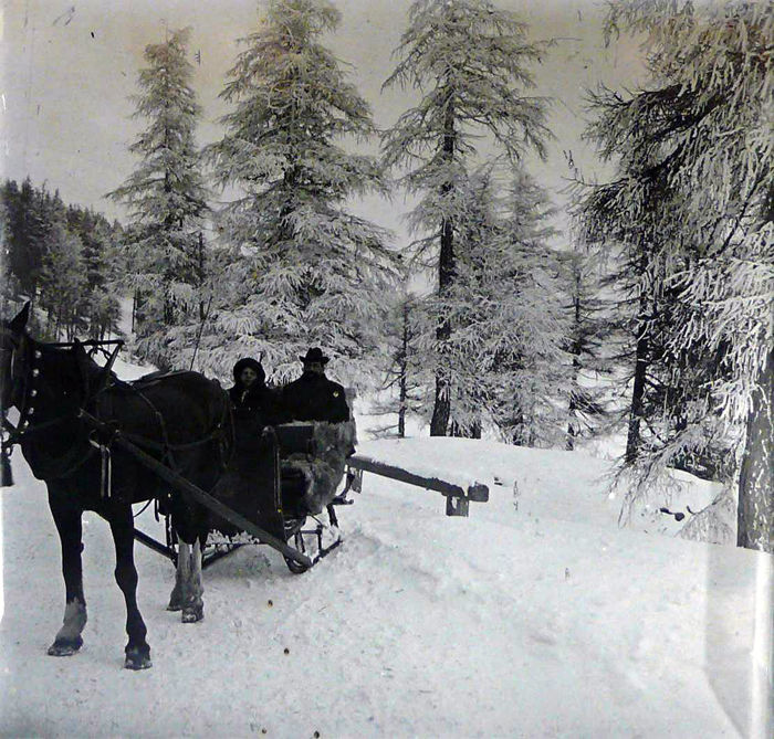 Switzerland in 1900 - Collection of 25 auteur stereoscopic photographs - Circa 1900-11