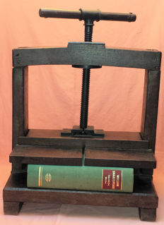 Book press, Netherlands, early 20th century